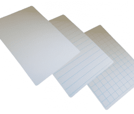 297mm x 210mm A4 Flexible Plastic Dry Wipe White Boards 3 Styles Pack of 100 132531122790 275x235 - 297mm x 210mm A4 Flexible Plastic Dry Wipe White Boards 3 Styles Pack of 100