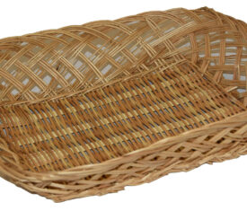 350mm x 300mm x 70mm Large Wicker Basket for Easter and Christmas Gifts Qty 1