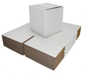 440 x 440 x 305mm White Double Wall Cardboard Moving Shipping Storage Box Qty 10