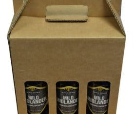 6 Bottle Beer Ale Cider Gift Carrier Holder Box Boxes Fathers Day Christmas