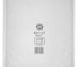 Box of 50 White Jiffy Airkraft Bubble Envelopes Size 5 260mm x 345mm 163681523280 275x235 - Box of 50 White Jiffy Airkraft Bubble Envelopes Size 5 260mm x 345mm