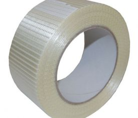 Reinforced Crossweave Adhesive Packing Tape 50m Rolls Range of Widths Available 142737347990 275x235 - Reinforced Crossweave Adhesive Packing Tape 50m Rolls Range of Widths Available