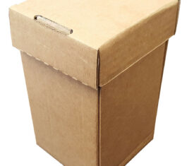 105mm x 105mm x 180mm Postal Shipping Boxes for Fragile Items Bottles Candles