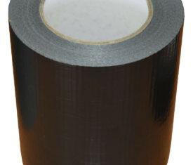 150mm x 50m Black Gaffer Tape Waterproof Duct Tape Qty 8 Rolls