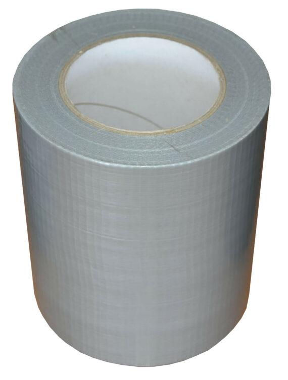 150mm x 50m Silver Gaffer Tape Waterproof Duct Tape Qty 1 Roll