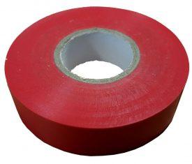 19mm x 33m Red Flame Retardant Electrical PVC Tape Qty 1 Roll