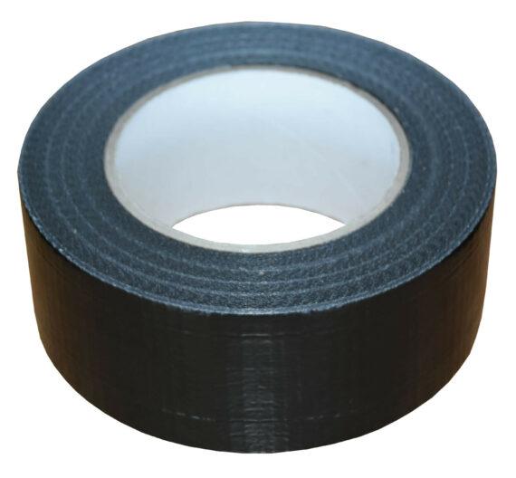 38mm x 50m Black Gaffer Tape Waterproof Duct Tape Qty 6 Rolls