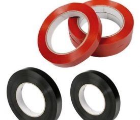 96 Rolls 19mm x 66m High-Strength Synthetic Rubber Resin Adhesive Strapping Tape