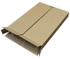A2 A3 A4 Single Wall Cardboard Corrugated Postal Boxes 5 Panel Wraps Mailers