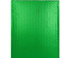 Box Quantity Various Sizes GREEN Gloss Metallic Bubble Bag Mailers Envelopes