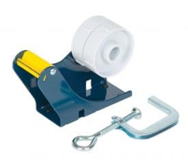 CBD50 Bench Clamp Worktop Tape Dispenser for 25/50mm Tapes with 75mm Cores