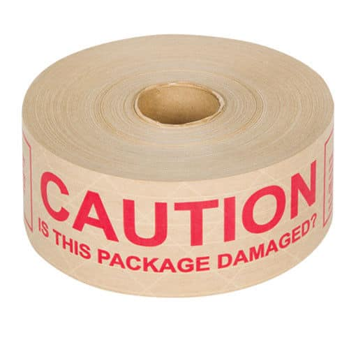 Tegrabond 70mm x 152m Pre Printed CAUTION IS THIS PACKAGE DAMAGED Adhesive Tape 132630914151 - Tegrabond 70mm x 152m Pre Printed CAUTION IS THIS PACKAGE DAMAGED Adhesive Tape