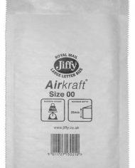 115mm x 195mm JL00 Jiffy Lite Airkraft Bags White x 100