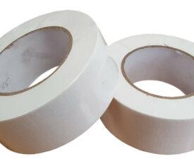 50mm x 50m White Gaffer Tape Waterproof Duct Tape Qty 6 Rolls