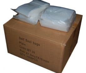 Grip Seal Bags Poly Plastic Plain Heavy Duty Strong Clear Large Variety of Sizes 130968066342 275x235 - Grip Seal Bags Poly Plastic Plain Heavy Duty Strong Clear Large Variety of Sizes