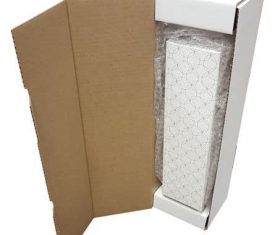 Ovals Wine Champagne Bottle Gift Present Postal Shipping Mailing Boxes Qty 10