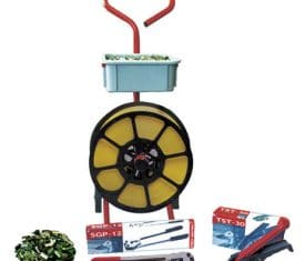 PPSK10 12mm Hand Strapping Banding Kit Tensioner Sealer Seals Trolley Dispenser