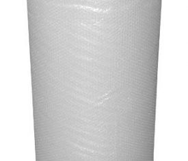 Plain Clear Bubble Wrap Roll 1200mm x 100m Small Bubbles Strong