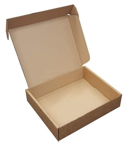 Small Parcel PIP Die Cut Cardboard Postal Mailing Boxes 300mm x 260mm x 70mm