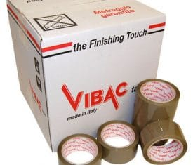 Vibac Solvent Buff Vinyl Parcel Packing Packaging Tape 66m 48mm Qty 216 142681666522 275x235 - Vibac Solvent Buff Vinyl Parcel Packing Packaging Tape 66m 48mm Qty 216