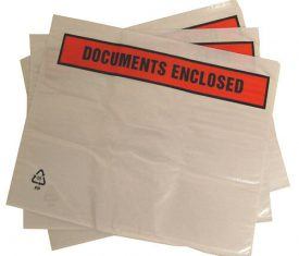 1000 A5 225mm x 165mm Self Adhesive Printed Documents Enclosed Wallets