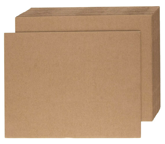 1000mm x 1200mm Cardboard Corrugated Sheets Board Pallet Layer Pads Qty 50