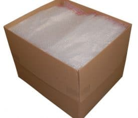 180mm x 230mm BP3 Jiffy Plain Bubble Wrap Bags Pouches Peel and Seal Strip x 300