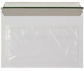 249mm x 359mm White Card Rigid Courier Envelopes with Document Wallet Qty 200 163476038303 275x235 - 249mm x 359mm White Card Rigid Courier Envelopes with Document Wallet Qty 200