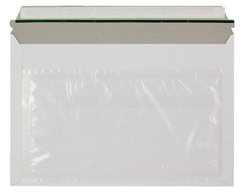 249mm x 359mm White Card Rigid Courier Envelopes with Document Wallet Qty 200 163476038303 - 249mm x 359mm White Card Rigid Courier Envelopes with Document Wallet Qty 200