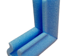 25mm x 100mm Blue Foam Baby Safety Corners Furniture Edge Protectors