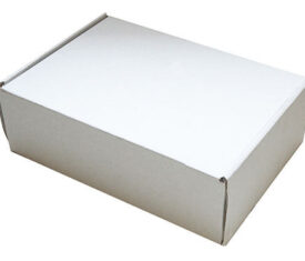 290mm x 208mm x 95mm White Small Parcel Die Cut Postal Mailing Shipping Boxes