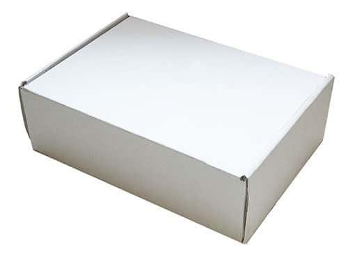 290mm x 208mm x 95mm White Small Parcel Die Cut Postal Mailing Shipping Boxes 163281341713 - 290mm x 208mm x 95mm White Small Parcel Die Cut Postal Mailing Shipping Boxes