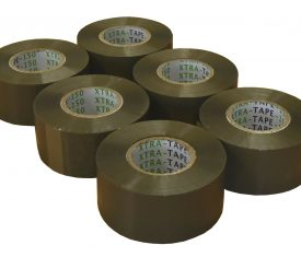48mm x 150m Extra Long Brown Adhesive Parcel Tape Qty 6 Rolls