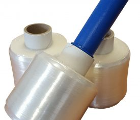 6 Rolls Jumbo 90mm x 300m Clear Mini Pallet Stretch Wrap with Dispenser 143327523453 275x235 - 6 Rolls Jumbo 90mm x 300m Clear Mini Pallet Stretch Wrap with Dispenser