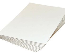 A5 A4 A3 A2 A1 A0 White Cardboard Corrugated Sheets Pads Divider Art Craft Board