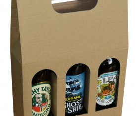 Beer Bottle Carrier Box Christmas Gifts Holds 3 Bottles up to 300mm x 70mm 132464745573 275x235 - Beer Bottle Carrier Box Christmas Gifts Holds 3 Bottles up to 300mm x 70mm