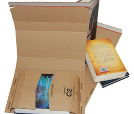 C2 Bukwrap Book Wrap Cardboard Mailer Postal Post Box 260mm x 175mm x 70mm
