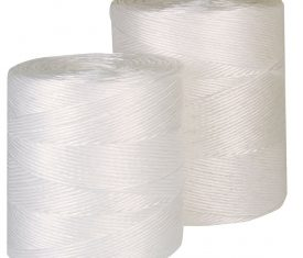 Heavy Duty White Weather Resistant Polypropylene Twine String 1 Roll of 1250m