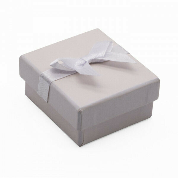 Pearl Gift Box for Rings with Satin Ribbon 60mm x 54mm x 30mm Qty 1 Box