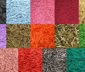 Shredded Shred Kraft Paper Christmas Hamper Fill Gift Wrap Decoration 14 Colours