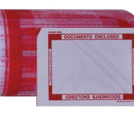 1 Roll of 330 Printed Documents Enclosed 144mm x 200mm Packing Wallets Envelopes