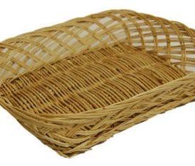 1 Small Wicker Willow Hamper Fruit Flower Gift Tray Basket 250mm x 200mm x 50mm 131089996964 275x235 - 1 Small Wicker Willow Hamper Fruit Flower Gift Tray Basket 250mm x 200mm x 50mm