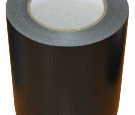 150mm x 50m Black Gaffer Tape Waterproof Duct Tape Qty 1 Roll
