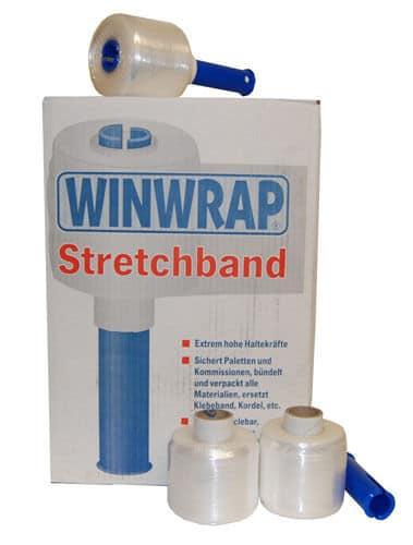2 Rolls 90mm x 300m Clear Mini Pallet Cling Film Stretch Wrap with Dispenser 141196357064 - 2 Rolls 90mm x 300m Clear Mini Pallet Cling Film Stretch Wrap with Dispenser