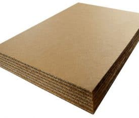 203mm x 203mm Cardboard Corrugated Sheets Board Pallet Layer Pads Qty 50