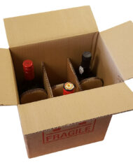 5-Strong-Cardboard-6-Bottle-Wine-Boxes-275mm-x-190mm-x-335mm-Printed-Fragile-163603397024-2