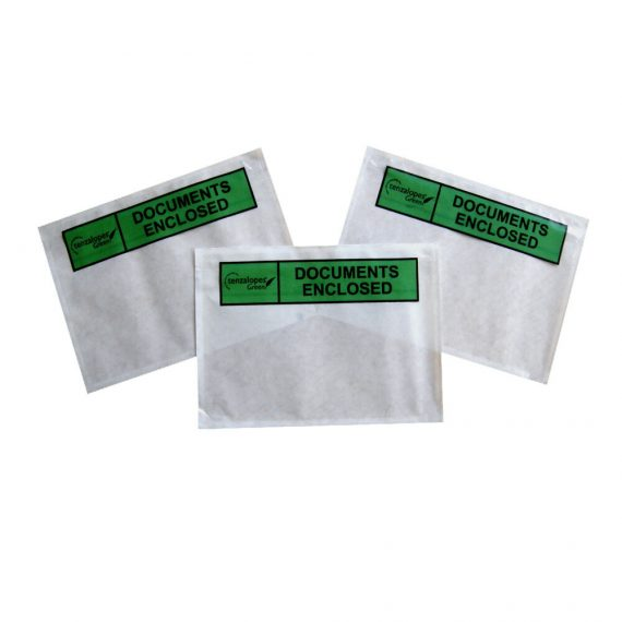 500 A4 Biodegradable Printed Documents Enclosed Packing Wallets Envelopes