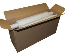 6 Rolls 400mm 300m 17mu Clear CAST Hand Pallet Stretch Wrap FREE Dispenser 132770012804 275x235 - 6 Rolls 400mm 300m 17mu Clear CAST Hand Pallet Stretch Wrap FREE Dispenser