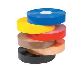 6 Rolls 48mm x 990m Polypropylene Coloured Adhesive Hotmelt Machine Tape 28mu