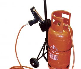 Heat Gun Shrink Wrap Film Gas Cylinder Tank Trolley does not include Gas or Gun